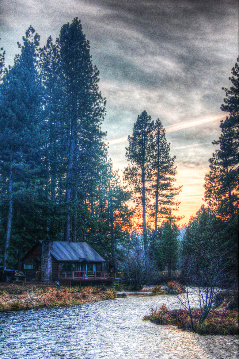 Photograph Camp Sherman Dusk by John Michaelson on 500px
