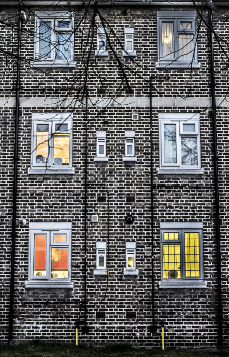 Photograph Wall of Bricks & Colours by Victor Alexandre on 500px