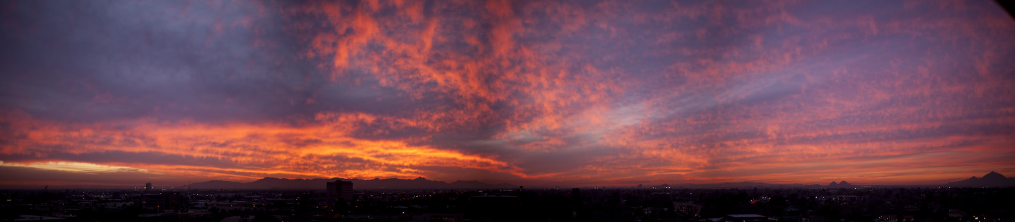 Photograph Phoenix Sunset Panorama by Rex Sowards on 500px
