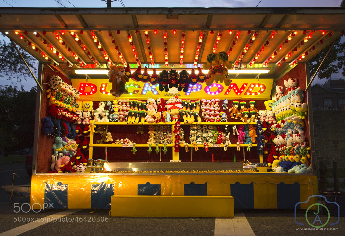 Photograph Carnival Kiosk - Stuffed Animals by Jack L. Aiello on 500px