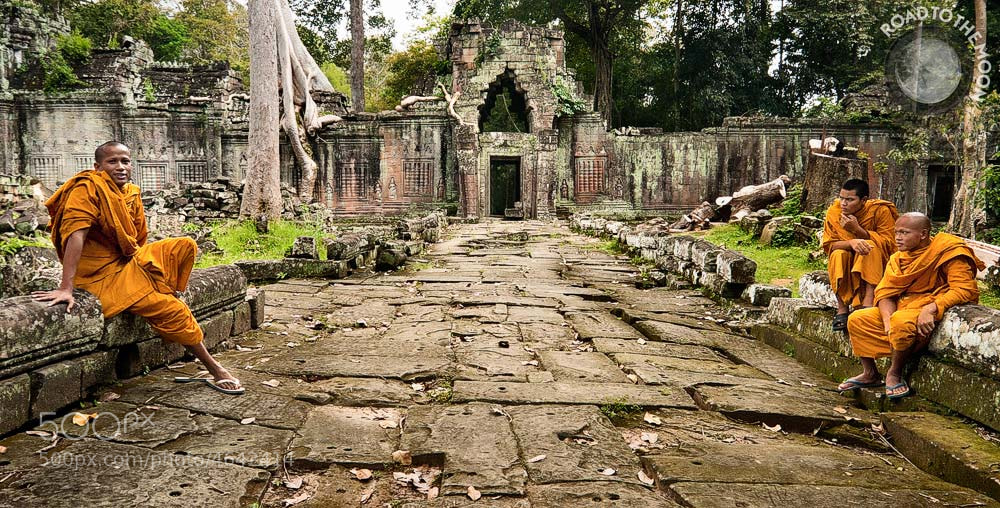 Photograph Preah Khan / Angkor / Cambodia / 2008 by Road to the moon // Travel Photography // on 500px