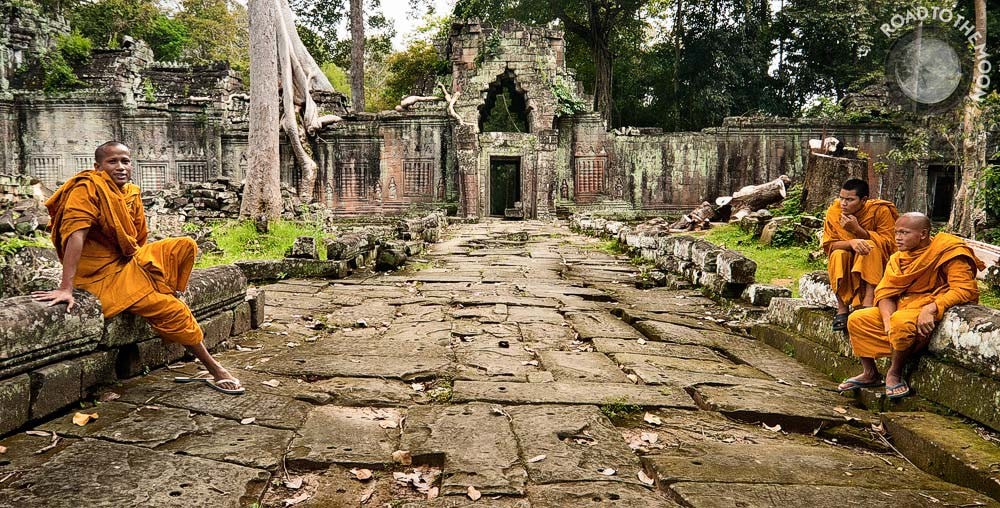 Photograph Preah Khan / Angkor / Cambodia / 2008 by ROAD TO THE MOON  on 500px