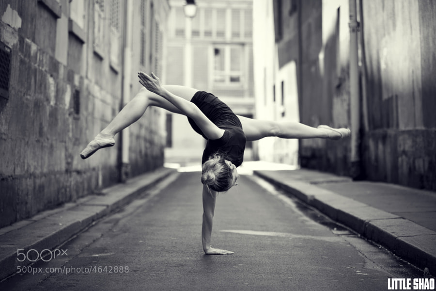 outdoor photo - An unusual Ballet Dancer by Little Shao