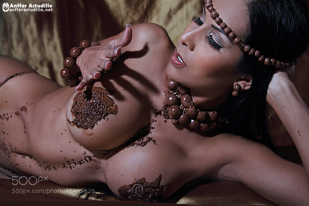 Photograph katherine chocolate by anffer astudillo on 500px