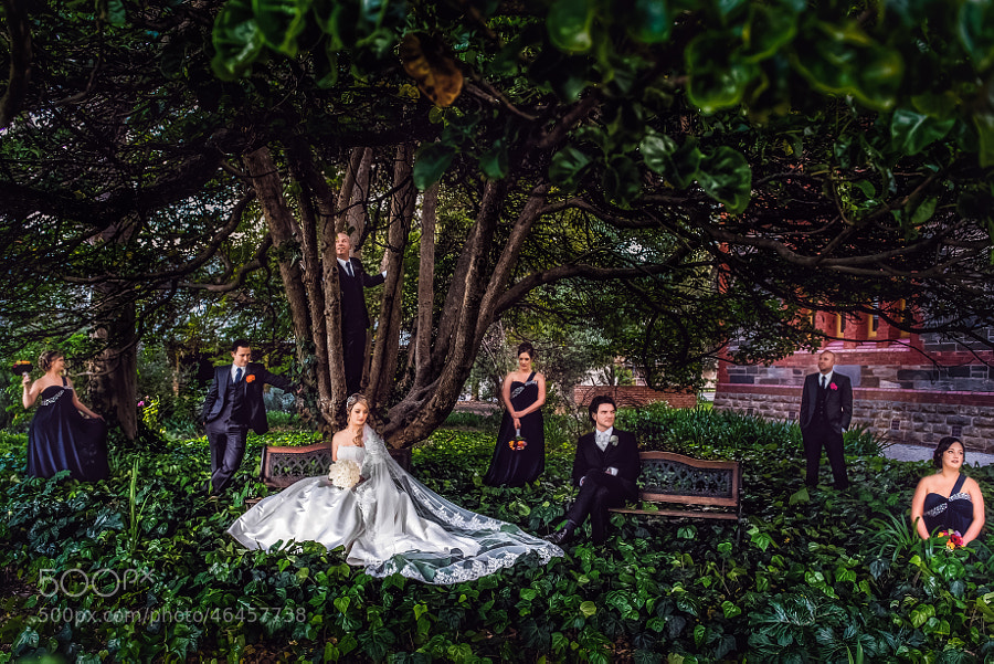 Photograph Wedding - bridal party by B Captured By Ky Luu on 500px