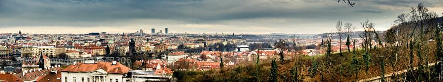 Panorama of Prague by Aleksey Serdyuk (AlekseySerdyuk)) on 500px.com