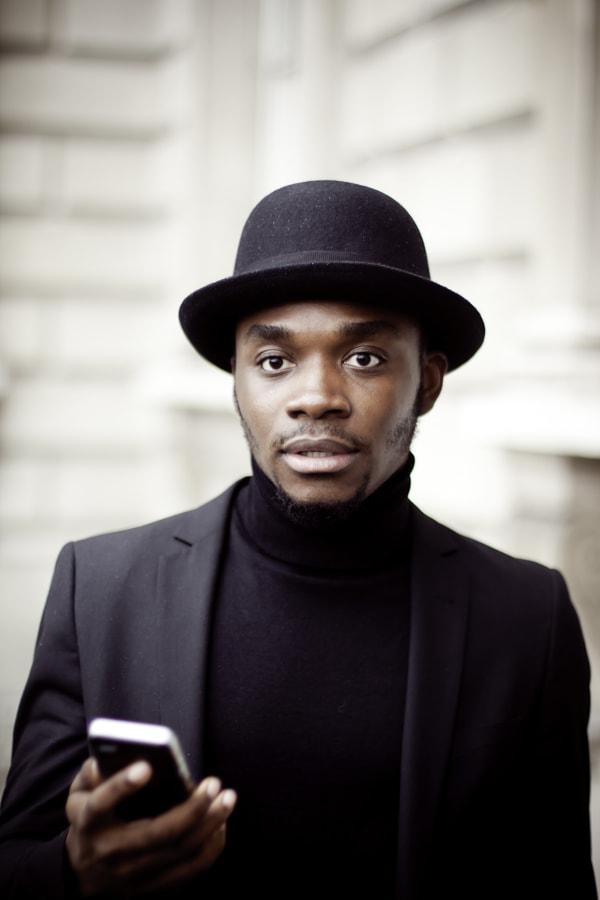 Man in black by Asiri Perera on 500px.com