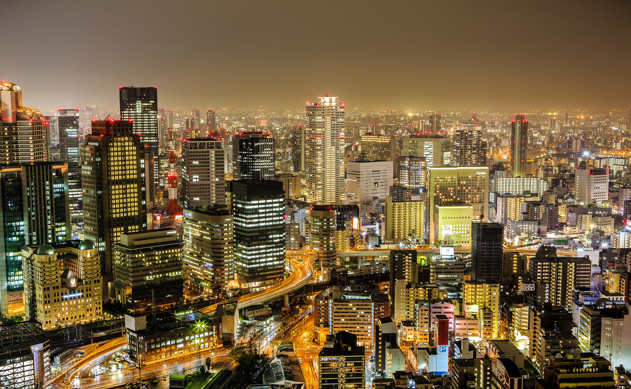 Photograph Osaka by night by Huy Tonthat 2 on 500px