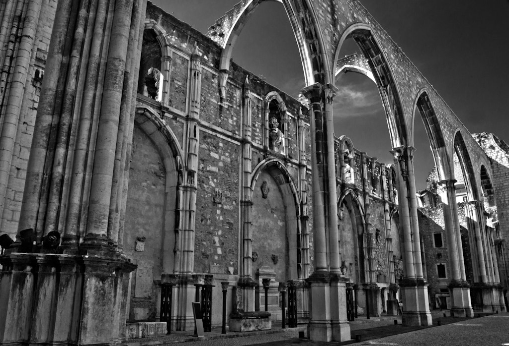 Photograph Lisbon Arches by Paul Griffiths on 500px