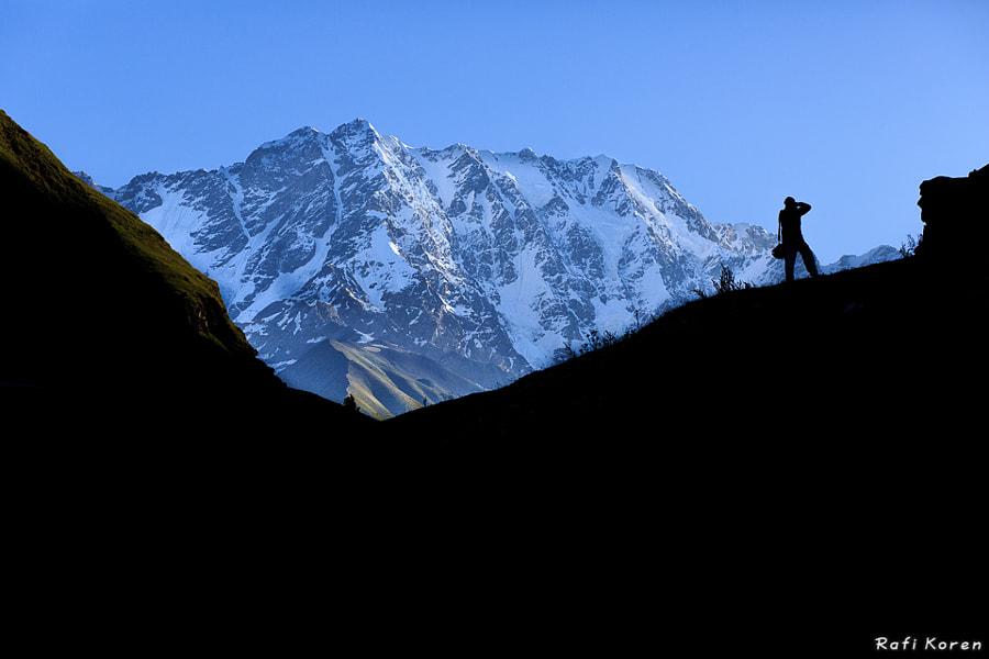 Mountains shadow