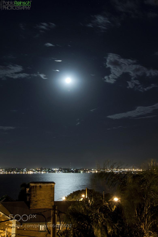 Photograph Luna brillante.- by Pablo Reinsch on 500px