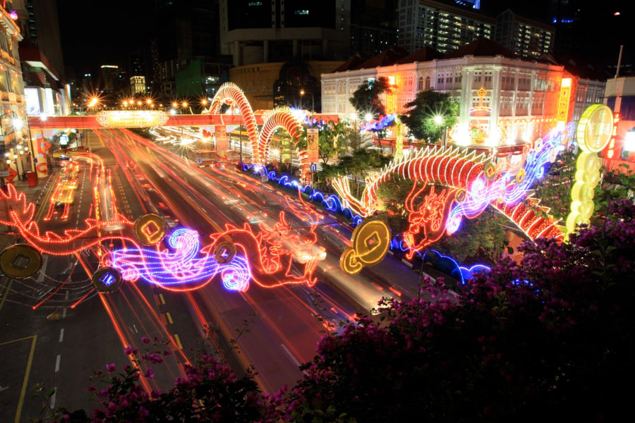 Year of the Dragon 2012 - Chinatown, Singapore