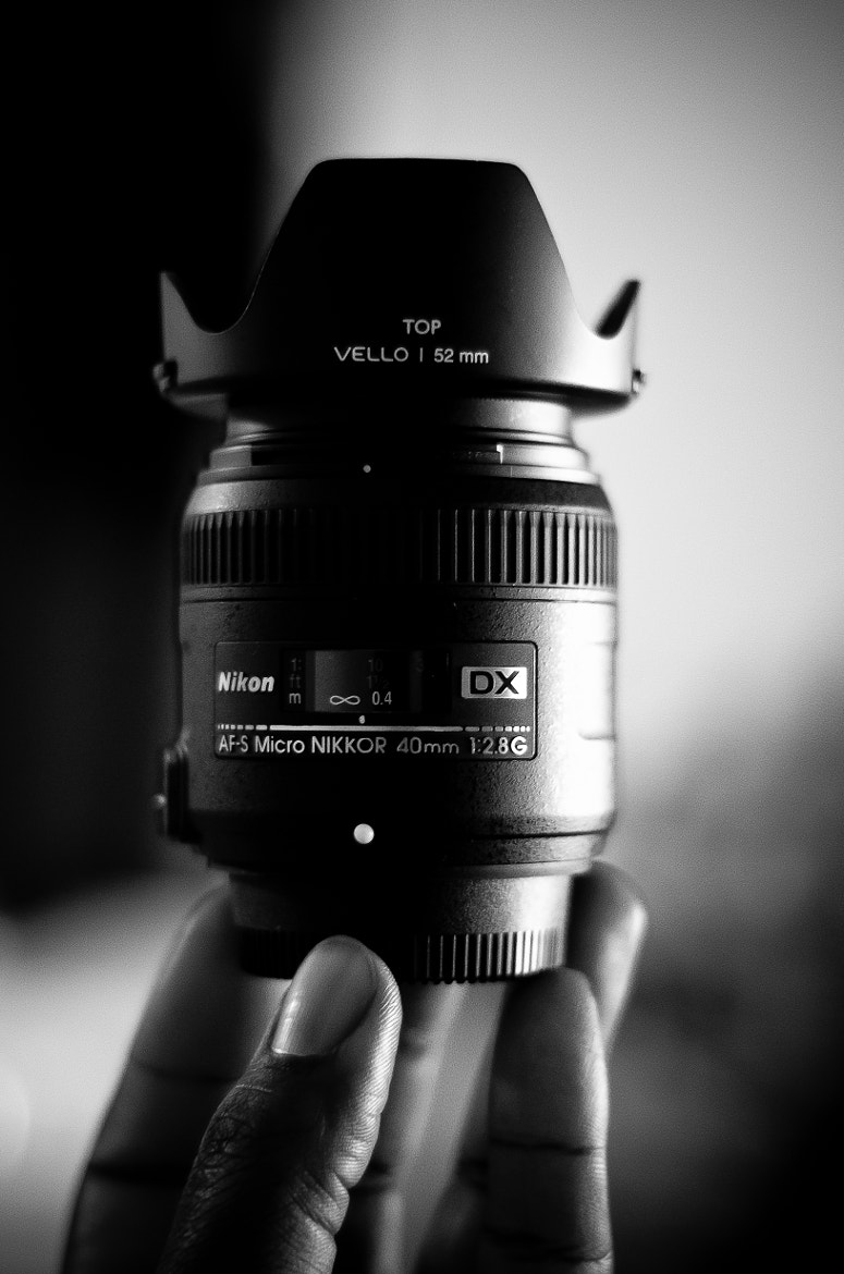 Photograph Nikkor 40mm f/2.8 Micro Lens by TyThe Terrible on 500px