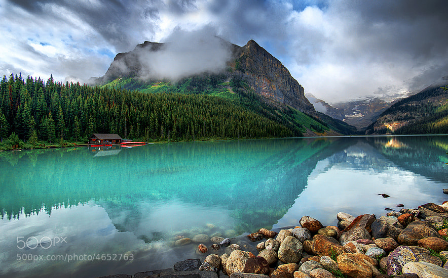 Photograph Lake Louise by Aubrey Stoll on 500px