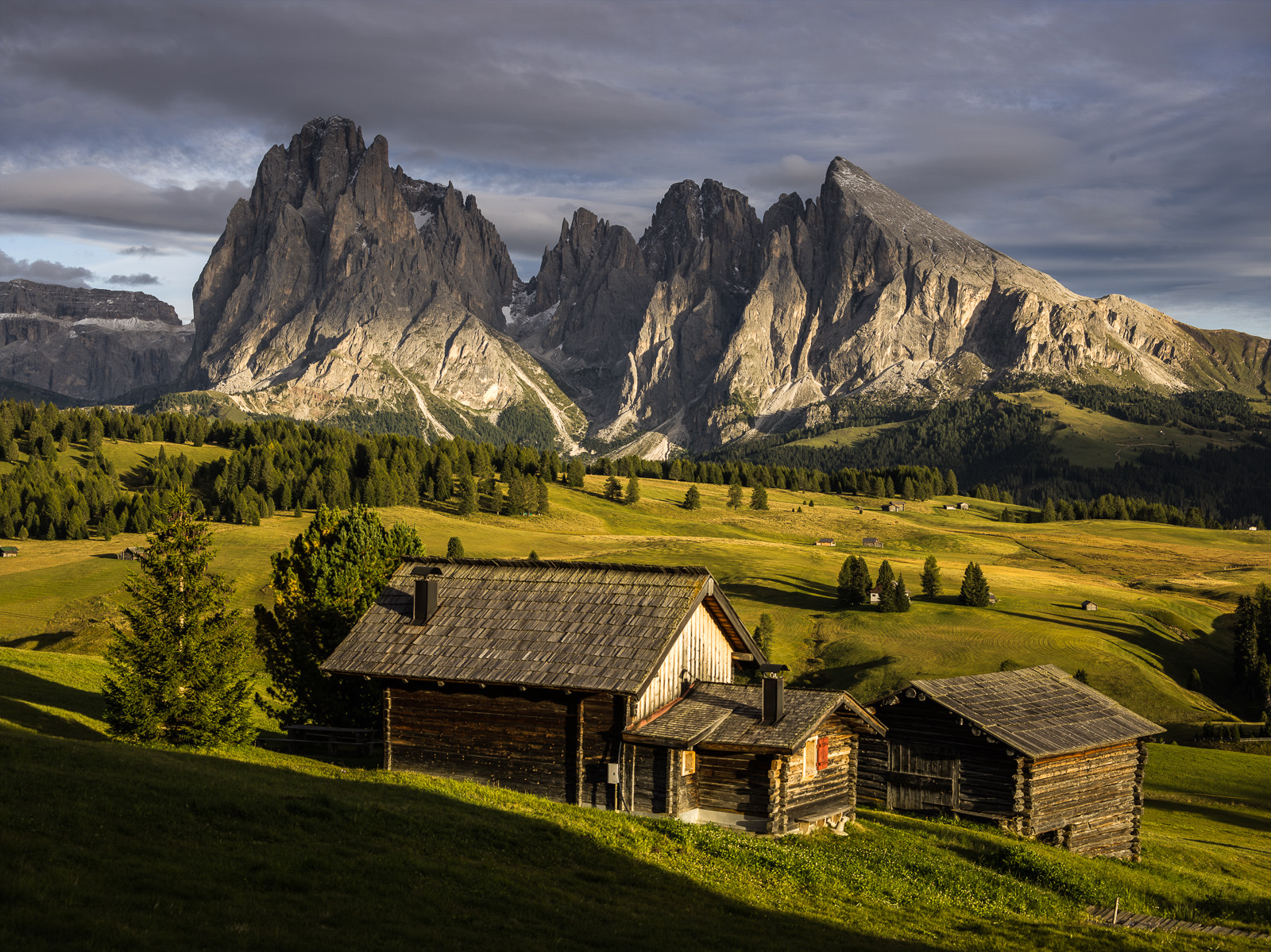 Photograph Alpe di Siusi in late afternoon light by Hans Kruse on 500px