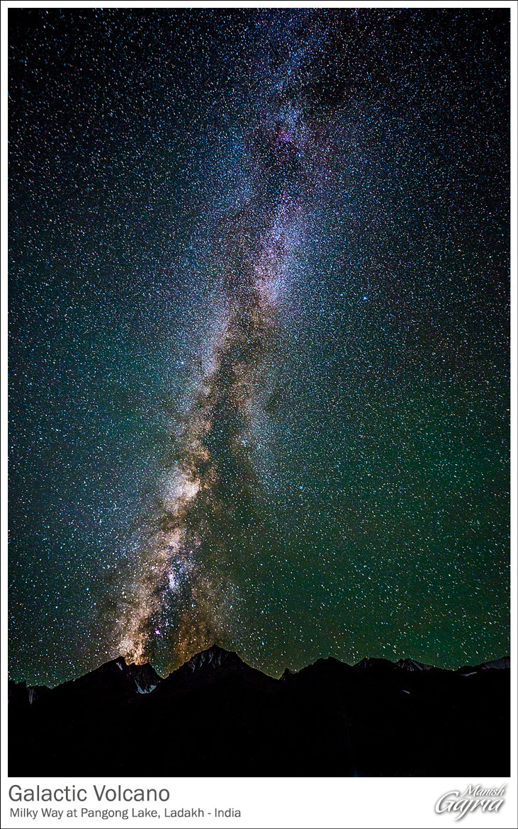 Photograph Galactic Volcano by Manish Gajria on 500px