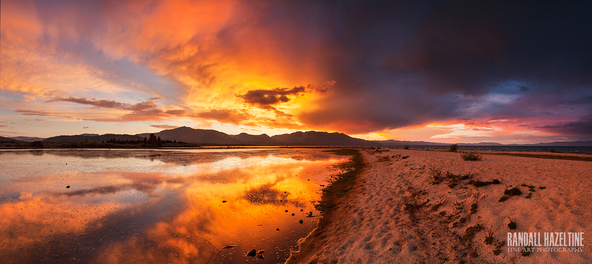 Photograph Summer's almost gone; Tahoe Sunset by Randall Hazeltine on 500px
