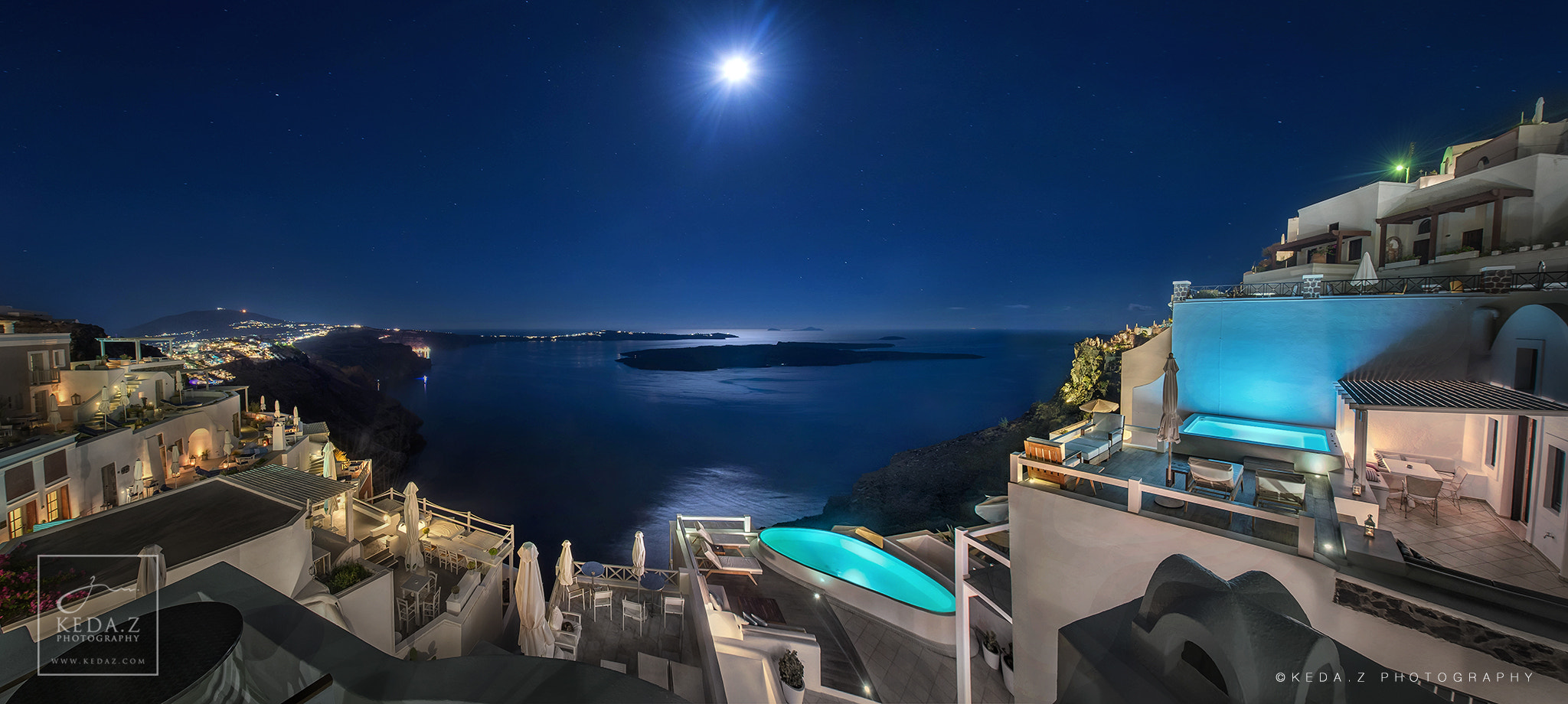 Photograph AQUA Luxury Suite Santorini by Keda.Z Feng on 500px