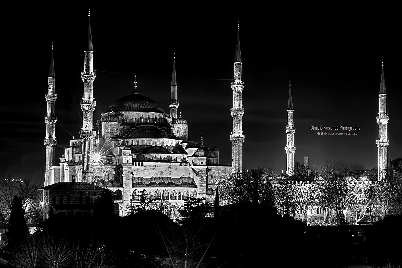 Photograph Blue Mosque (Sultanahmet Mosque) by Dimitris Koskinas on 500px