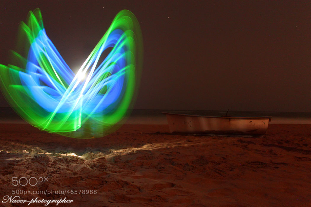 Photograph light painting by nacer zizo on 500px