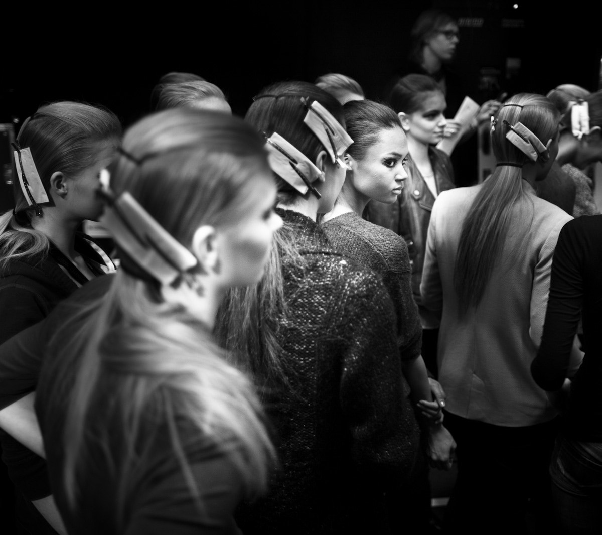 Photograph Backstage fashion show by Ralph Lemarechal on 500px