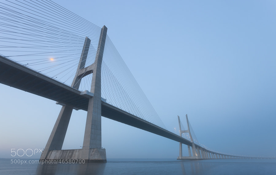 Photograph Vasco da Gama Bridge by John Q on 500px
