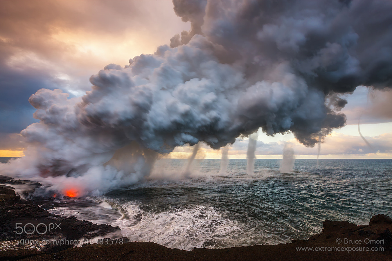 Photograph Volcanic Vortices by Bruce Omori on 500px