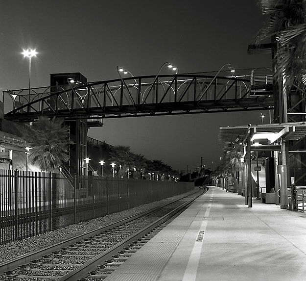 Photograph Night Station by Steve Kompier on 500px