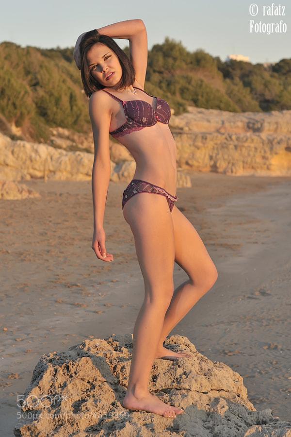 Photograph Sandra , en la costa dorada  by Rafael  Tamajón on 500px