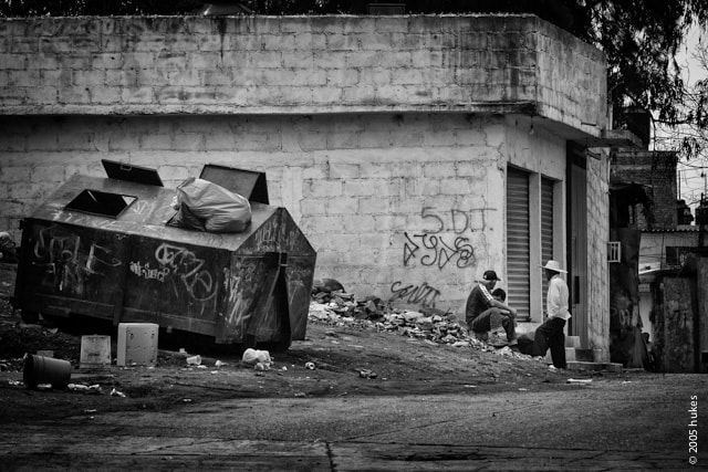 Photograph Dumpster town by hukes . on 500px