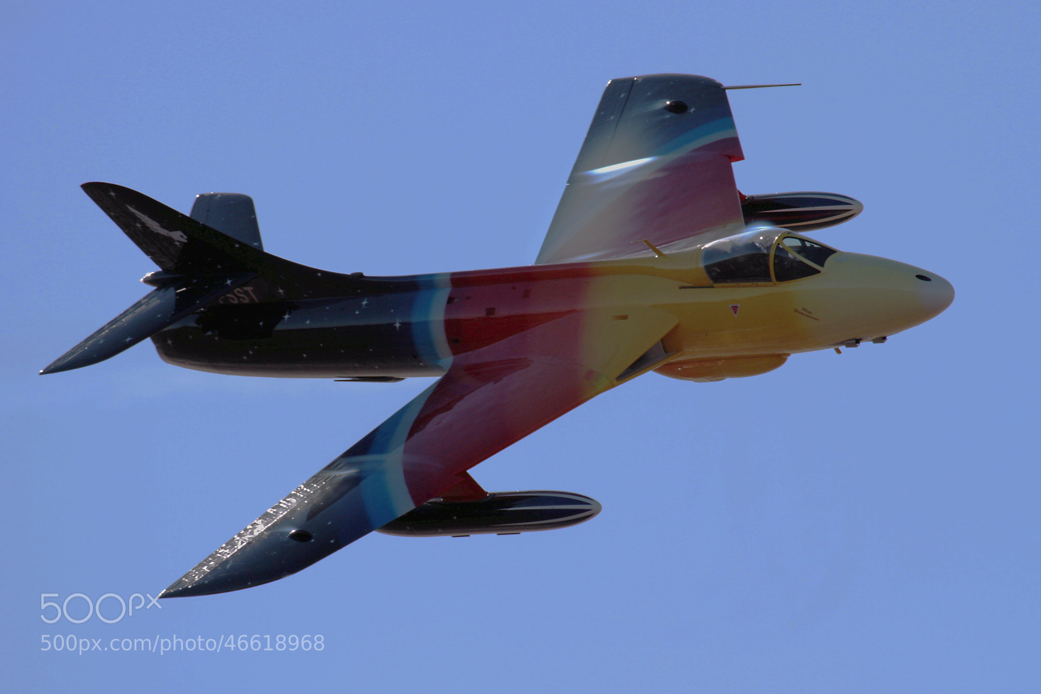 Photograph Hawker Hunter by Ian Porter on 500px