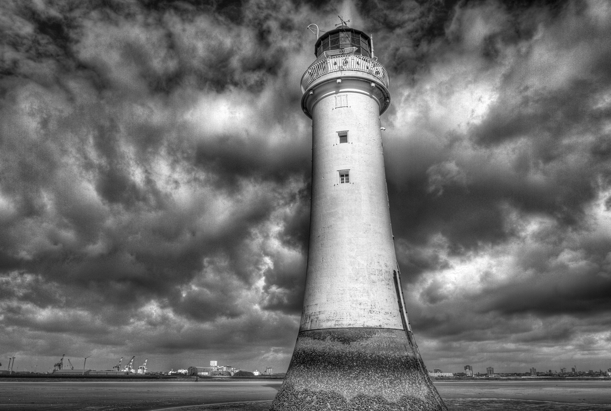 Photograph New Brighton Lighthouse by Chris Cheshire on 500px
