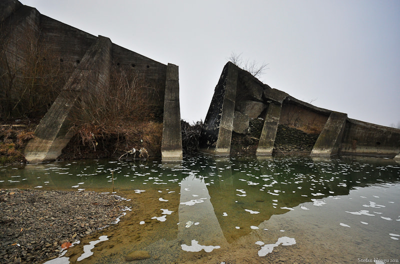 Photograph Ruined Dam by Stefan Neagu on 500px