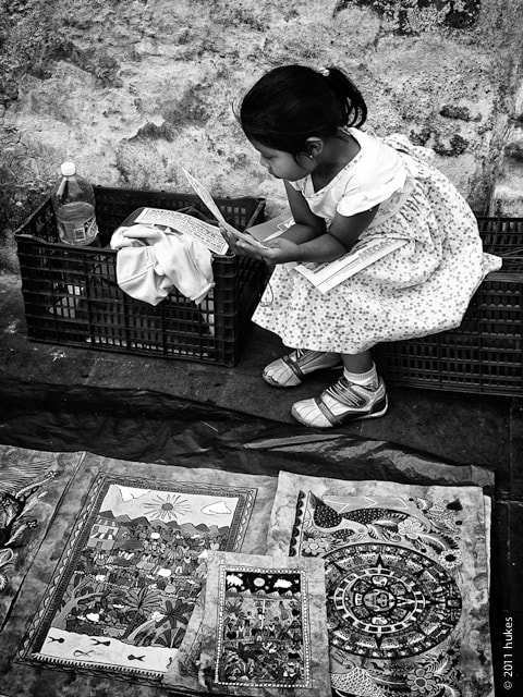 Photograph Literate girl by hukes . on 500px