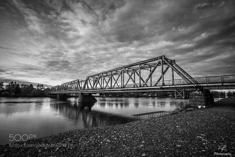 Photograph BW Bridge by Leo Rantala on 500px