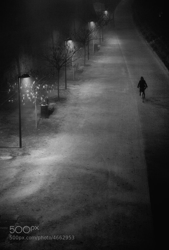 Photograph A walk in the night #5 by Magali K. on 500px