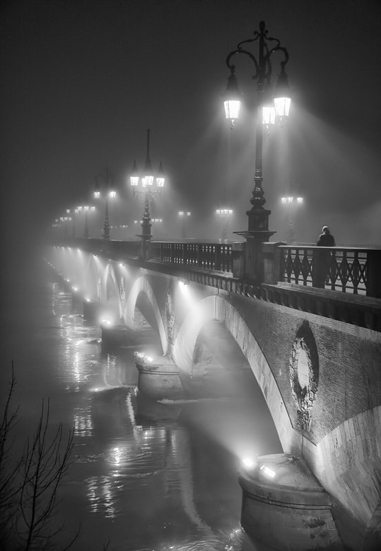 Photograph The bridge in the night by Magali K. on 500px