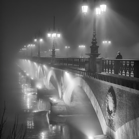 The bridge in the night by Magali K. (penhad)) on 500px.com