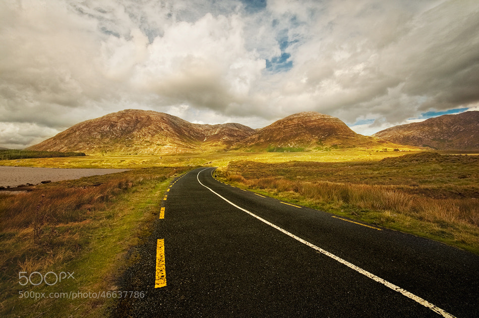 Photograph Roads of Connemara by Lukasz Maksymiuk on 500px
