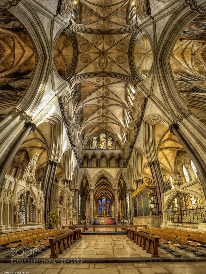 Photograph Salisbury Cathedral Altar by Mark Wycherley on 500px