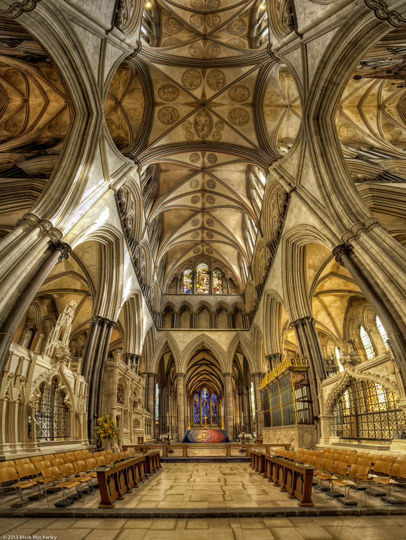 Photograph Salisbury Cathedral Altar by Mark Wycherley on 500px