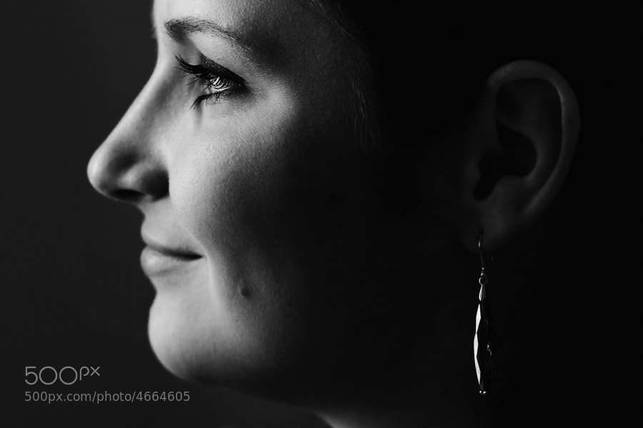 Photograph Girl with an earring by Stanislav Šebek on 500px