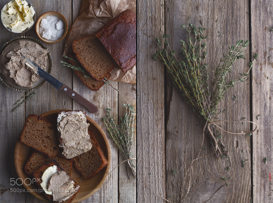 Photograph Pate with thyme by Aleksandr Slyadnev on 500px