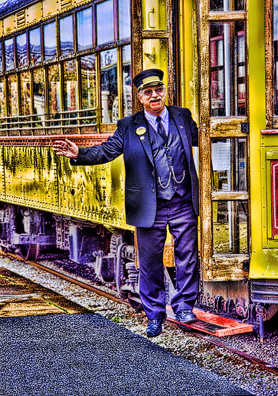 Photograph Train Conductor  by Harold Stinnette on 500px