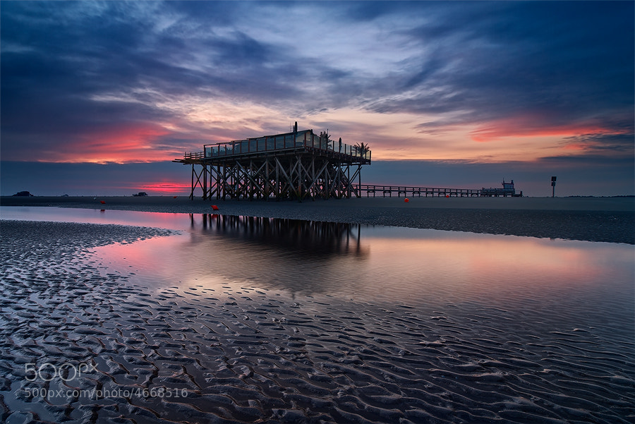 Photograph St. Peter Ording by Michael  Breitung on 500px