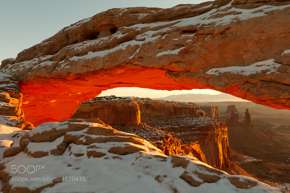 Photograph Mesa Arch by Marco Zulianello on 500px