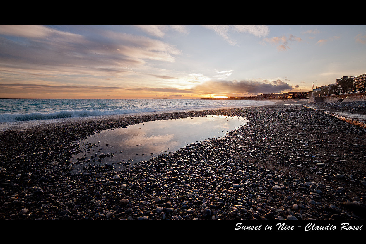 Photograph Sunset in Nice by Claudio Rossi on 500px