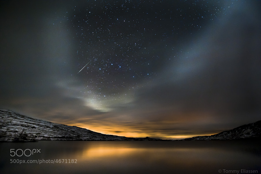 Photograph Meteor night by Tommy Eliassen on 500px