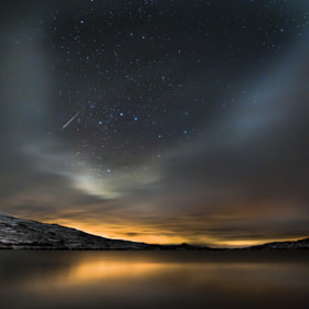 Meteor night by Tommy Eliassen (tommyeliassen)) on 500px.com