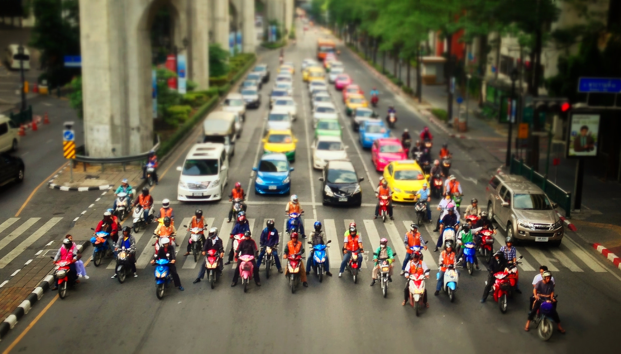 Photograph United Colors of Bangkok Street by Teelip Lim on 500px